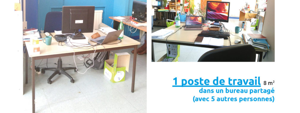 affiche poste nomade coworking Lyon Guillotiere ESS