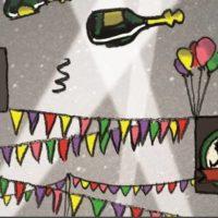 affiche de l'anniversaire