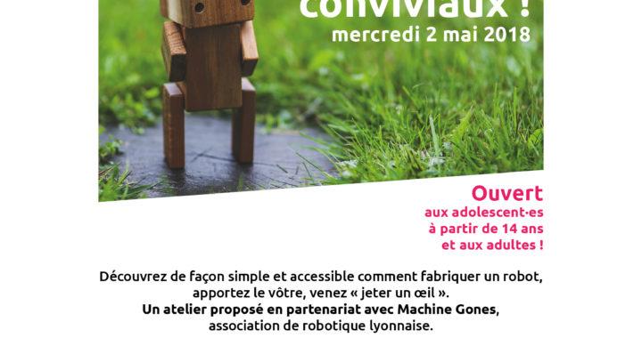 Affiche Apéro-Atelier 2 mai 2018 - 18:30 - 21:00